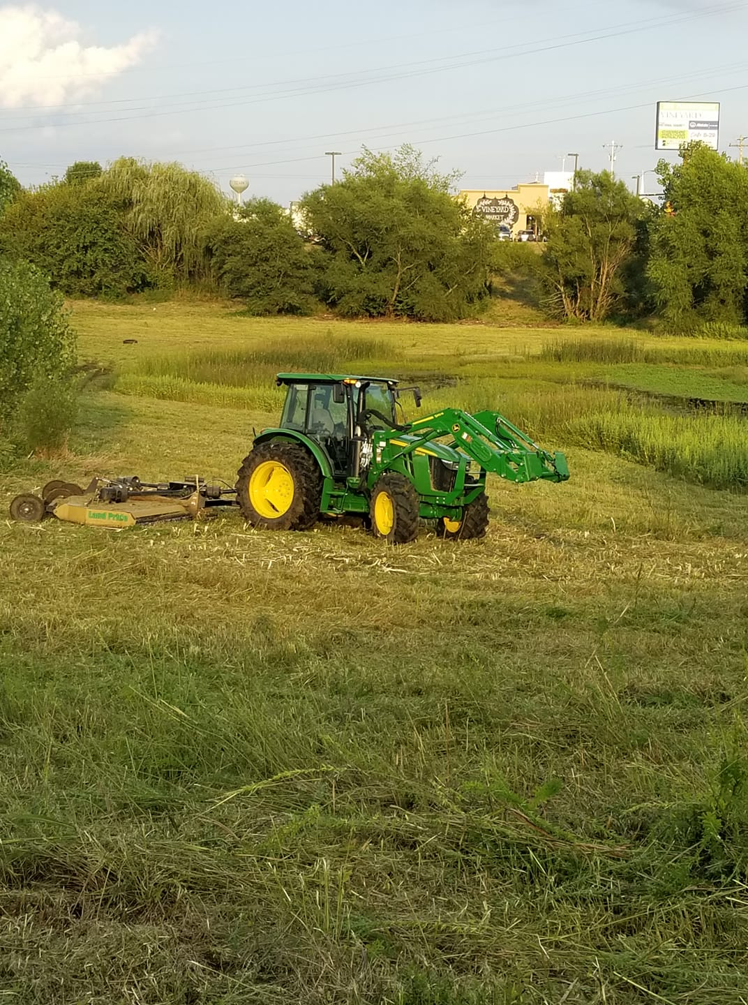 Brush Hogging Several Acres in Southwest Missouri